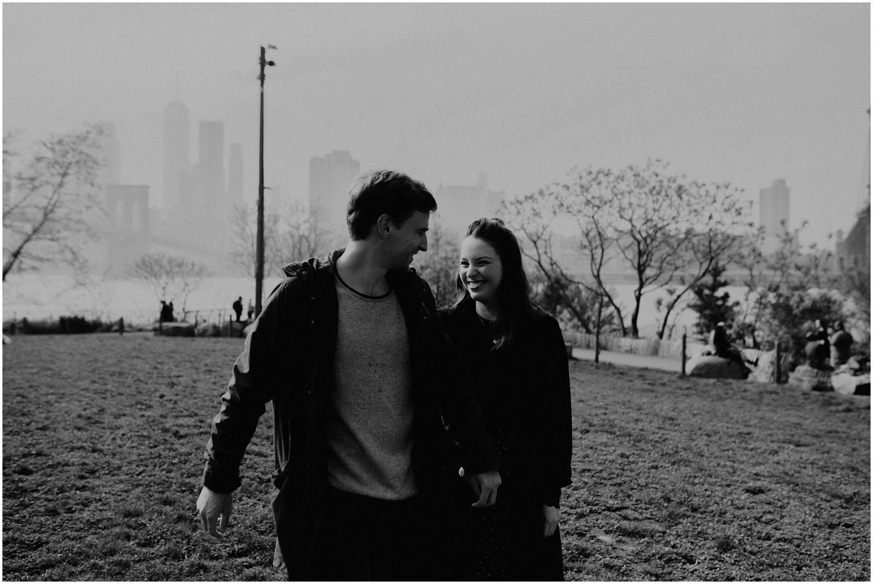 Manhatten Couple shooting NYC Michele Schiermann