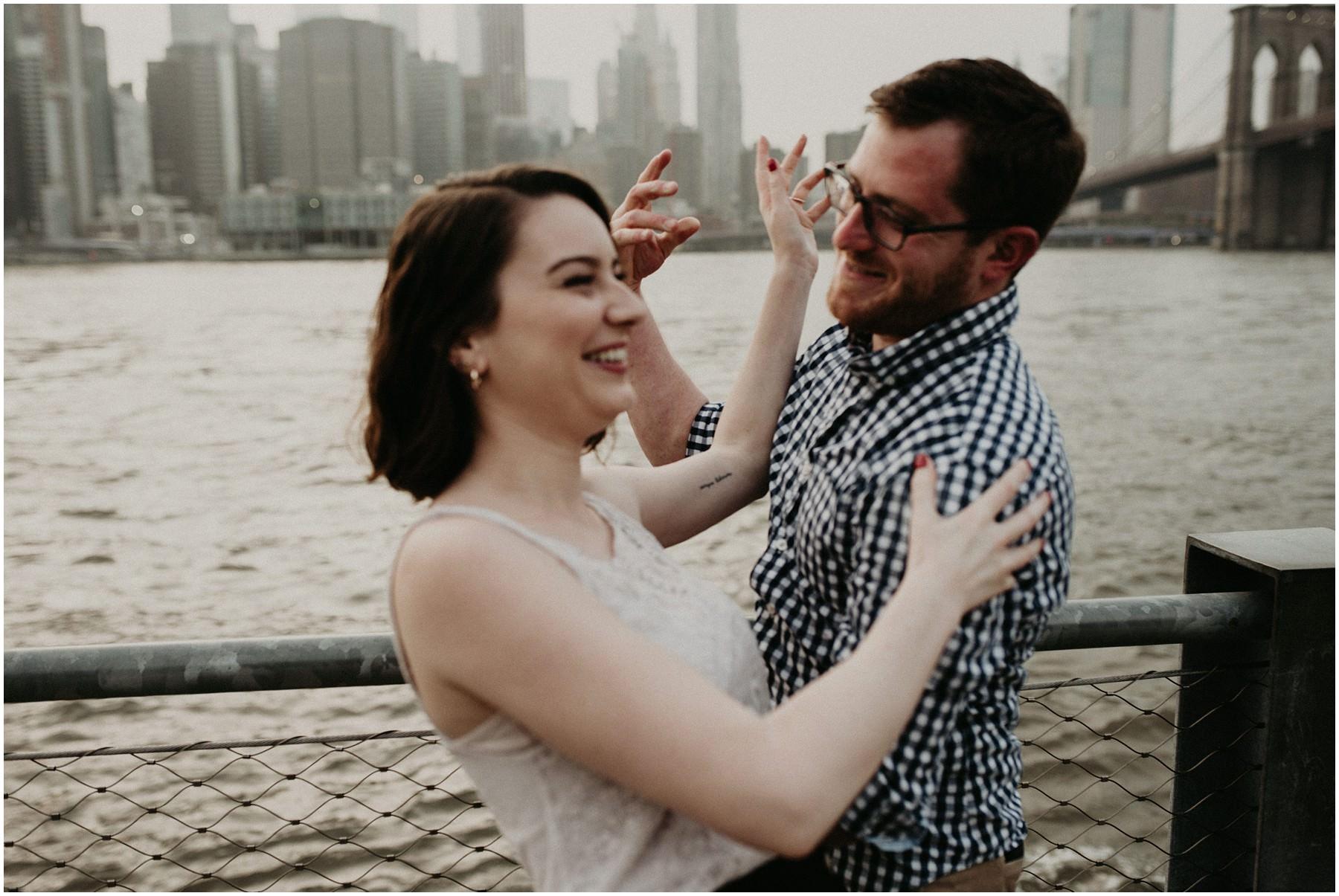 Manhatten Couple shooting NYC Michele Schiermann_0004