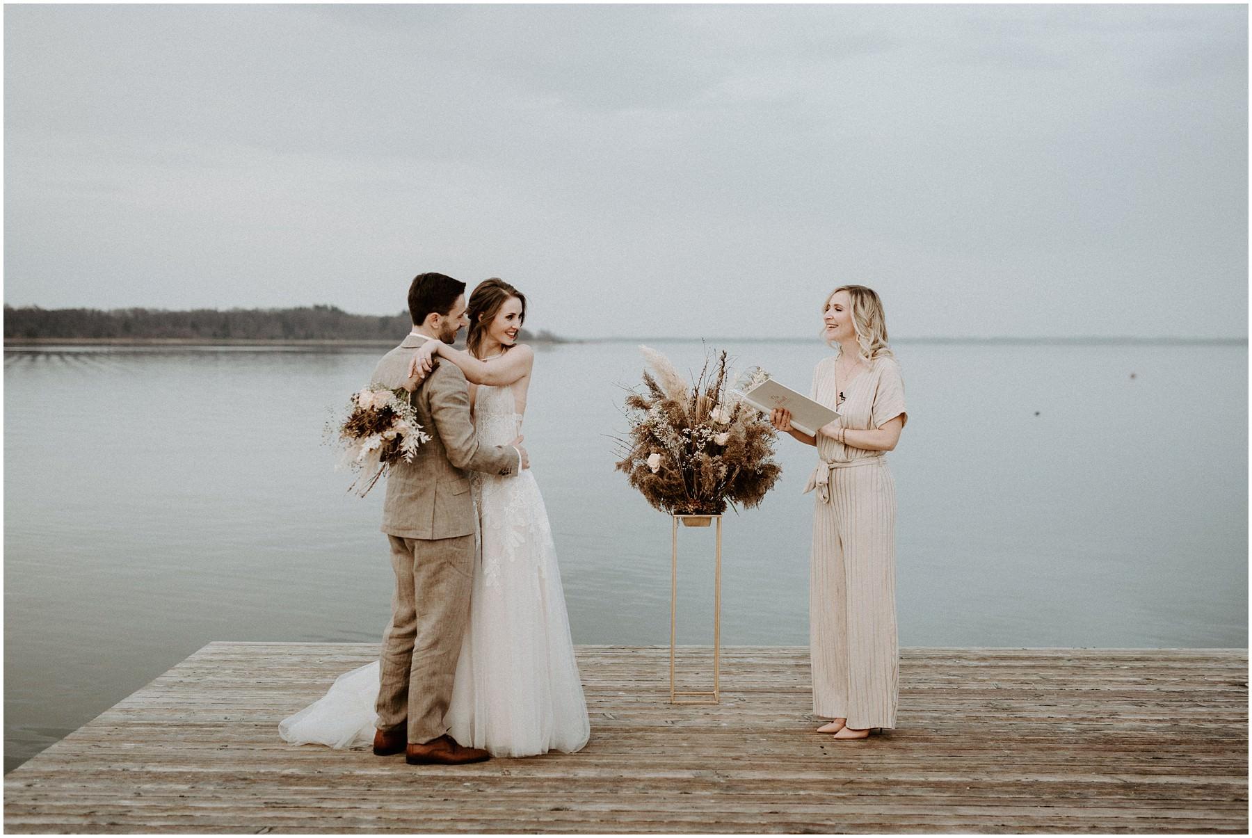 Hochzeitsfotografin Michèle Schiermann München Sallers Badehaus Chiemsee